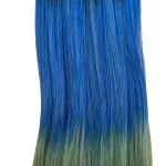 1-BLUE-TURQUOISE OMBRE TRIO
